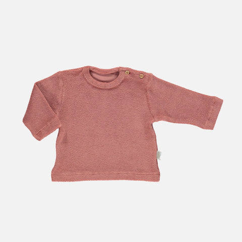 Organic Cotton Terry Estragon Sweatshirt - Light Mahogany