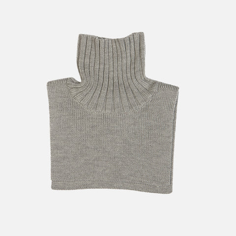 Merino Neck Warmer - Light Grey - 2-12y