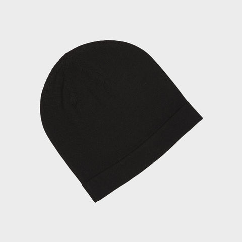 Adult Merino Hat - Black - One Size