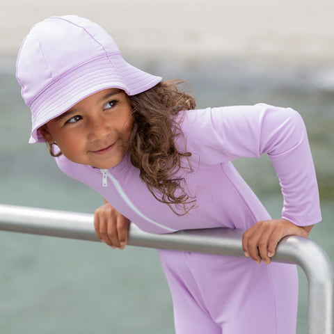 Freya UV Protection Sun Hat - Lilac - 0-8y