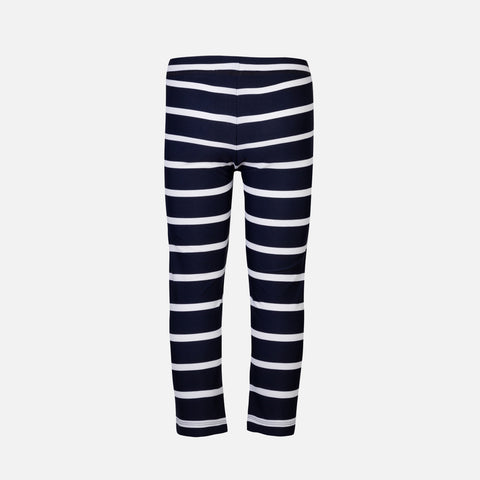 Fly Swim Leggings - Blue/White Stripe - 2-8y