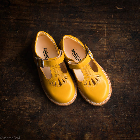 Kids T-Bar - Yellow - 26-34 (UK 8.5-2)