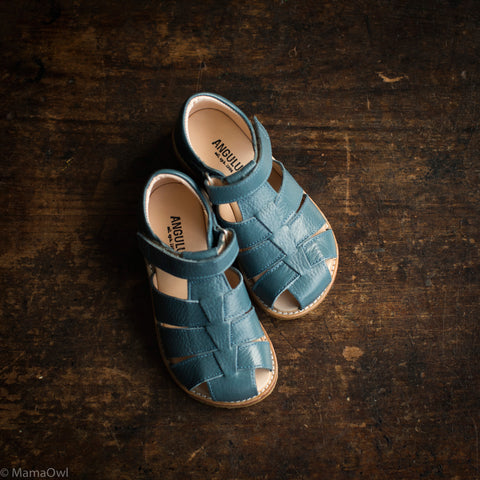 Fisherman Kids Sandals - Denim Blue - 26 (UK8.5)- 36 (UK3)