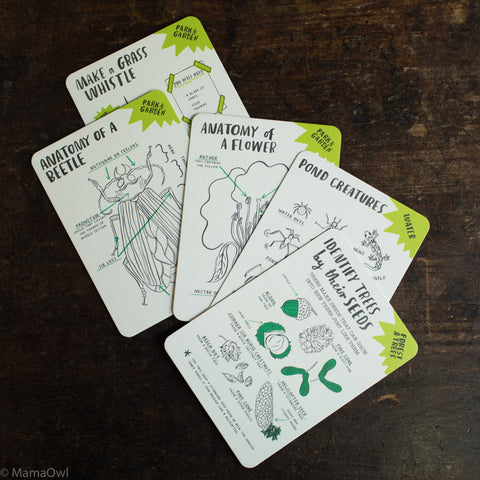 Nina Chakrabarti - Hello Nature Activity Cards: 30 Activities