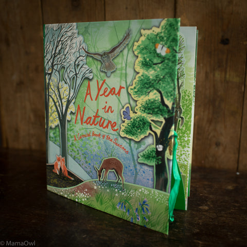 Hazel Maskell - Year In Nature: A Carousel Book Of The Seasons