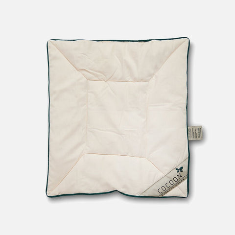 Organic Cotton Flat Kapok Pillow - Baby - Natural