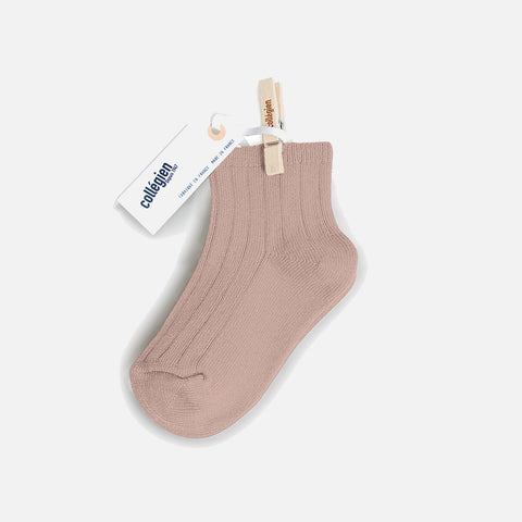 Babies & Kids Short Socks - Old Rose - 18-35