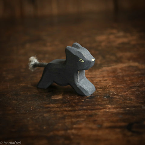 Handcrafted Small Running Panther