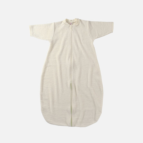 Organic Virgin Wool L/S Sleeping Bag - Natural