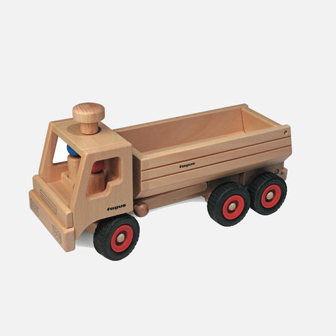 Wooden Container Tipper Truck