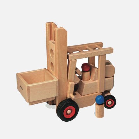 Wooden Fork Lift Truck