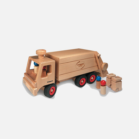 Wooden Garbage Tipper Truck
