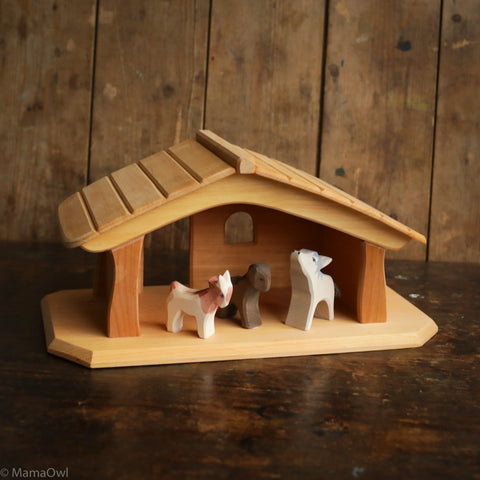 Handcrafted Small Stable