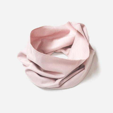 Organic Endless Scarf - Vintage Pink - One Size