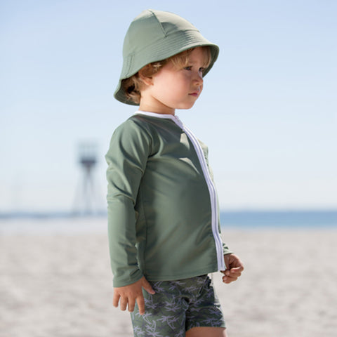 Freya UV Protection Sun Hat - Olive - 0-8y