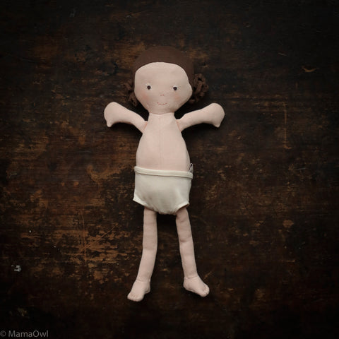 Organic Cotton Doll - Louise