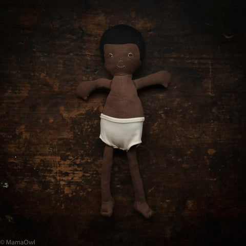 Organic Cotton Doll - William