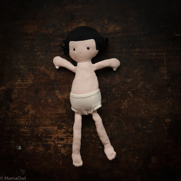 Organic Cotton Doll - Nell