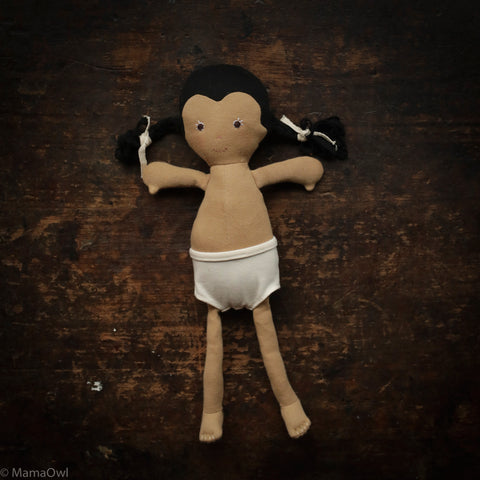 Organic Cotton Doll - Celia