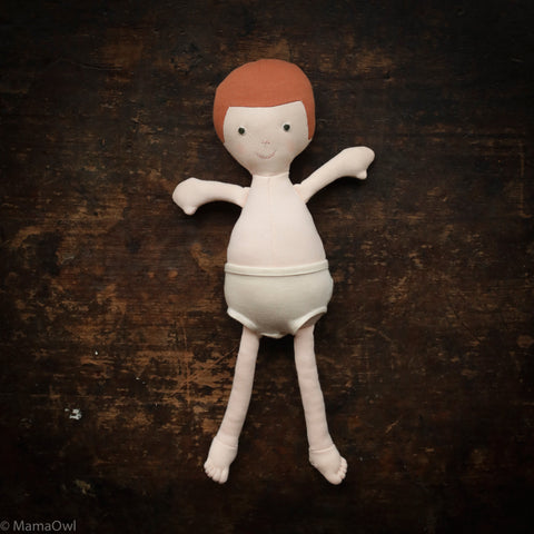 Organic Cotton Doll - Charlie