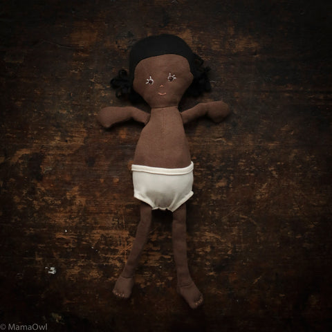 Organic Cotton Doll - Ada