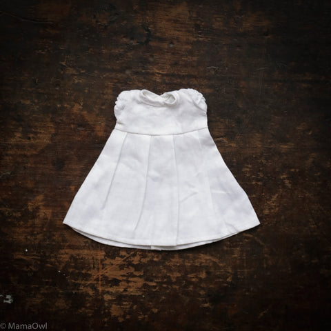 Linen Dolls Dress - White