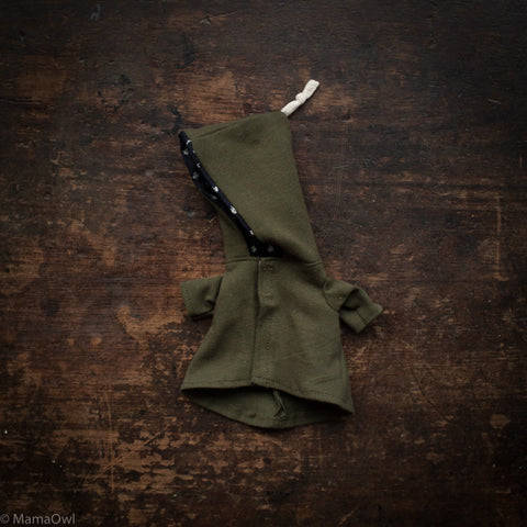 Organic Cotton Dolls Jacket - Khaki