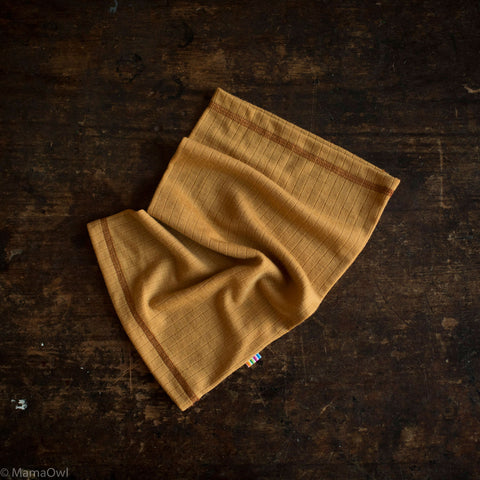 Exclusive Merino Snood - Ochre - 1-14y