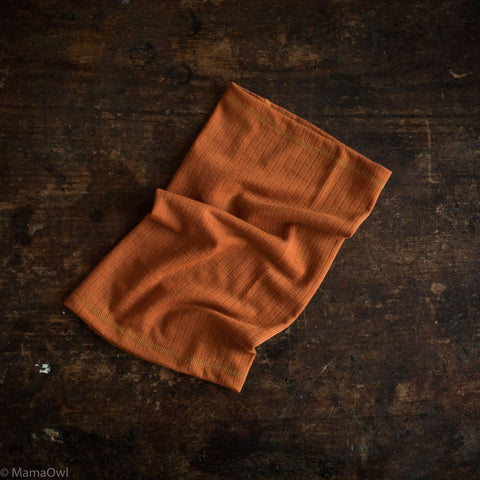 Exclusive Merino Snood - Rust - 1-14y