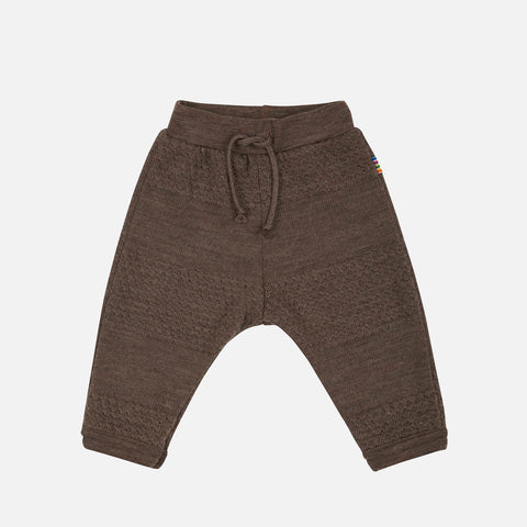 Merino Wool Pants - Chestnut - 4m-4y