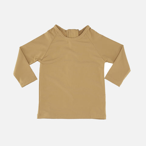 UV Long Sleeve Tee - Mustard - 12m-7y