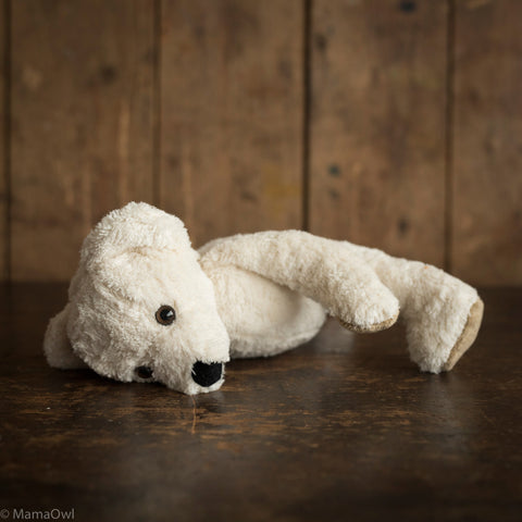 Big Organic Cotton & Wool Bear - Natural