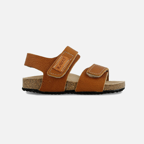 Eco Leather Bomhus EP Sandals - Light Brown - 26 (UK 8.5) - 33 (UK 1)