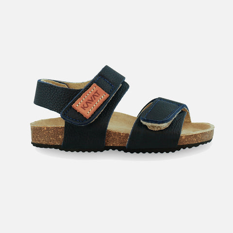 Eco Leather Bomhus EP Sandals - Blue - 26 (UK 8.5) - 33 (UK 1)