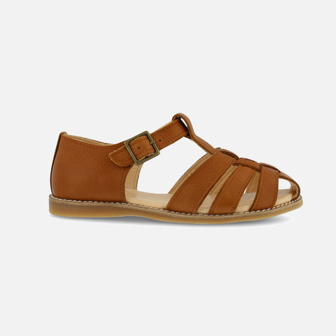 Women's Eco Leather Lotta EP Sandals - Light Brown - 37 (UK 4) - 40 (UK 7)