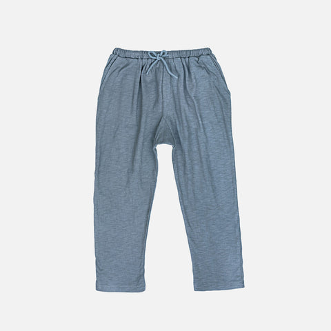 Organic Cotton Jersey Kumar Trousers - Sea Glass - 3-10y