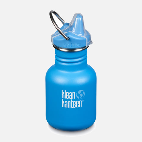 Kid Kanteen Classic Sippy Water Bottle - 355ml - Pool Party