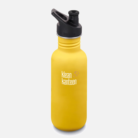 Stainless Steel Classic Water Bottle - 532ml - Lemon Curry