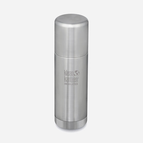 Stainless Steel TK-Pro Insulated Flask - 1L - Brushed Stainless