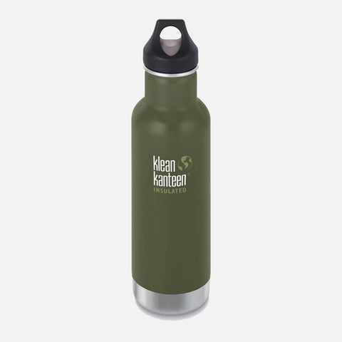 Stainless Steel Classic Insulated Water Bottle - 592ml - Forest Pine