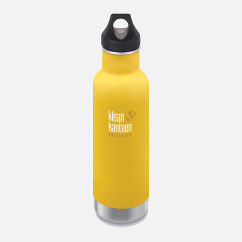 Stainless Steel Classic Insulated Water Bottle - 592ml - Lemon Curry