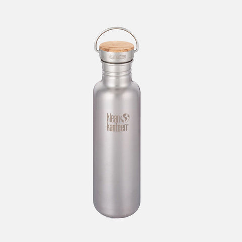 Stainless Steel Reflect Water Bottle - 592ml - Brushed Stainless