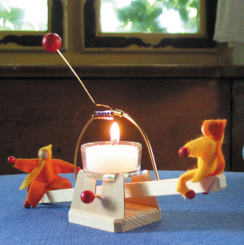 Candle See-Saw With Dolls Kit