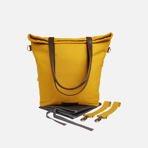 Global Traveller Changing Bag - Sandy Heavens - Mustard