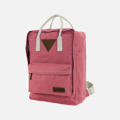 Organic Cotton Ansvar II Backpack - Vintage Red