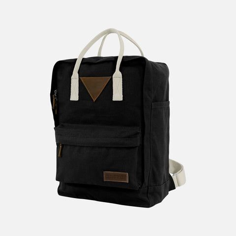 Organic Cotton Ansvar II Backpack - Black