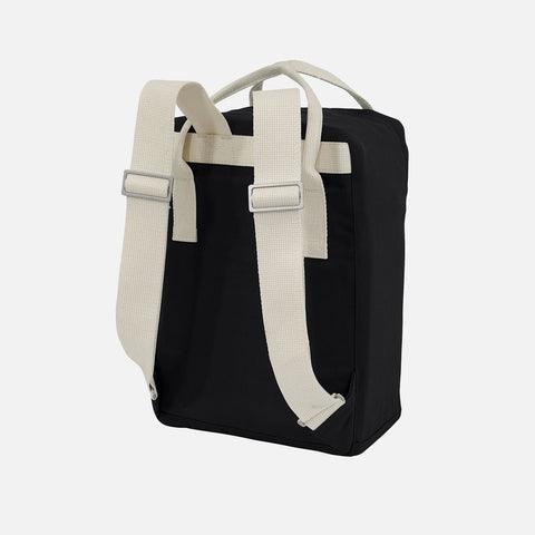 Organic Cotton Ansvar IV Mini Backpack - Black