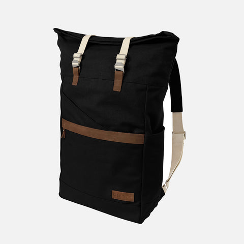 Organic Cotton Ansvar 1 Backpack - Black