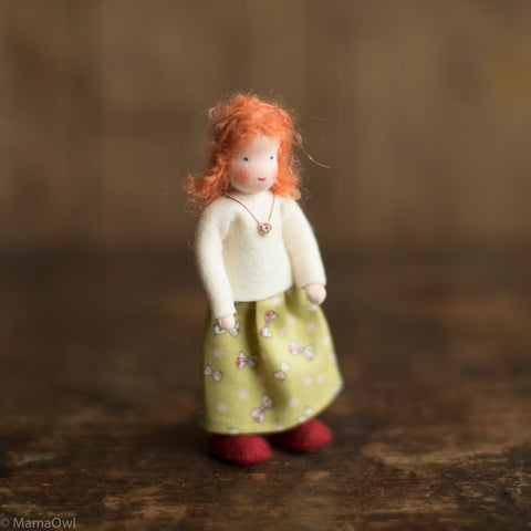 Handmade Doll's House Doll - White Woman