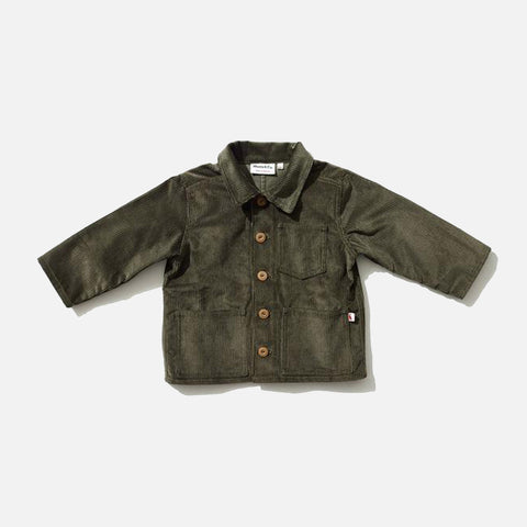 Cotton Corduroy Foundry Jacket - Olive